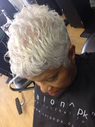 beautiful gray hair pixie women u0027s hairstyles black women
