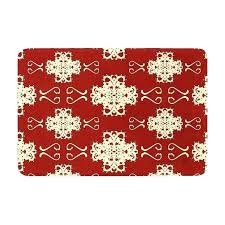 Damask Bath Rug White Damask Rugs Bath Rug Motif By Mat Black And Small