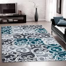 Wohnzimmer Teppiche Modern Modern Designer Teppich Toscana Langflor Für Wohnzimmer Teppich