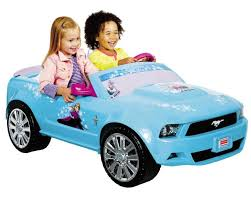 toddler mustang car power wheels disney frozen ford mustang 12 volt ride on toys r us