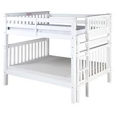 White Bunk Bed With Trundle George White Bunk Bed With Storage Drawers And Trundle Drawer