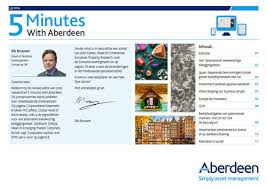 At Aberdeen  asset management is our business   Netherlands