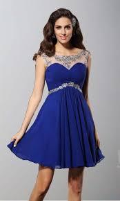 blue illusion short lace prom dresses uk ksp347 ksp347 87 00