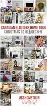 Homes Decorated For Christmas On The Inside Canadian White Christmas Home Tour Satori Design For Living