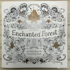 enchanted forest english edition coloring books for children
