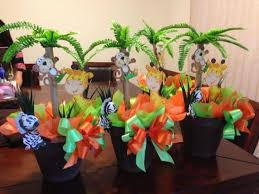jungle baby shower ideas cool baby shower jungle theme centerpieces 18 for baby shower
