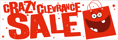 clearance sale banner business banners