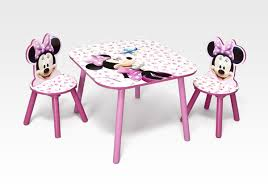 minnie mouse table set character furniture minnie mouse table chair set