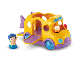 nickelodeon bubble guppies bubble bus by fisher price