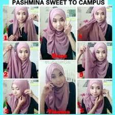 tutorial jilbab jilbab jilbab segiempat tutorial hijab pinterest