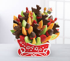 christmas fruit arrangements business gifts easy as 1 2 3 edible news