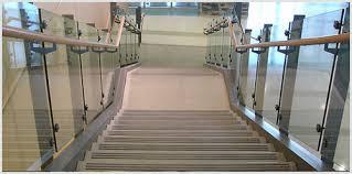 Frameless Glass Handrail Frameless Glass Handrail At Rs 1700 Running Feet Stair Handrail