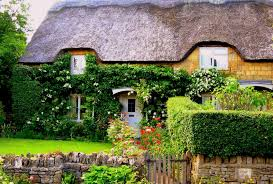 misc cotswold garden cotswolds cottage house england english full