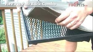 Firepit Pad Deck Protector Hearth Pad Pit Pad Pit Deck Pad