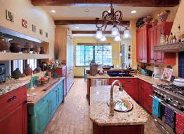 mexican kitchen design new mexico kitchen southwest cabinet doors new mexican food santa