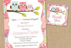 baby shower thank you cards template thank you card printable