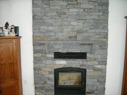 new fireplace with stone veneer perfect ideas 7456