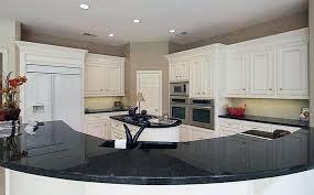 Granite Countertop Standard Depth Kitchen Cabinets Patterned by Black Granite Countertops Colors U0026 Styles Designing Idea