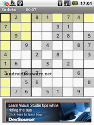 android freeware sudoku free android app android freeware