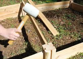 Raised Flower Bed Corners - raised garden beds home depot gardening ideas
