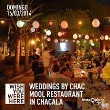 wedding planning classes cooking classes chac mool restaurant club chacala