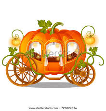 pumpkin carriage pumpkin carriage stock images royalty free images vectors