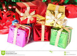 gift boxes happy holidays