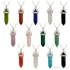 diy necklace wholesale images Wholesale wholesale crystal quartz healing point chakra gem bead jpg