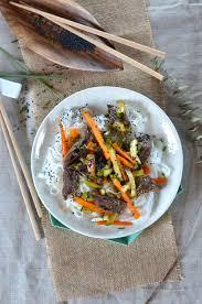 recette cuisine courgette salade de boeuf carotte courgette et nouilles de riz recette