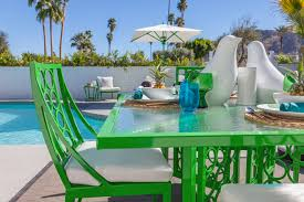 Palm Springs Outdoor Furniture by Palm Springs Modernism Week Our Cozy Cubbyhole