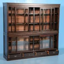antique display cabinets with glass doors antique display cabinets with glass doors antique bookcase or