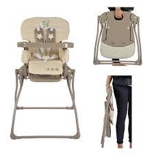chaise haute b b pliante chaise haute pliante ultra compacte looping lune câline 2016