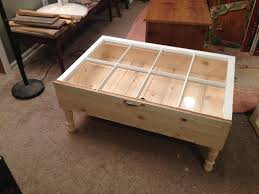 unfinished shadow box coffee table chocoaddicts com