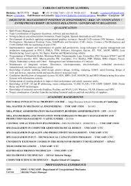 Automation Engineer Resume Summary Cv Caetano Eng