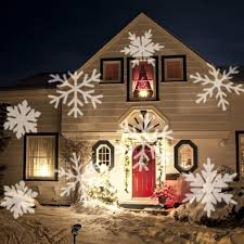 Light Flurries Snowflake Projector by Outdoor Snowflake Christmas Lights Sacharoff Decoration