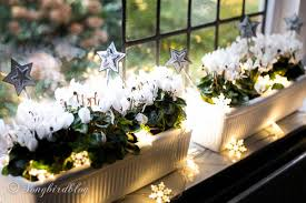 Christmas Decorations For Window Boxes by Window Sill Decorations For Christmas Songbird
