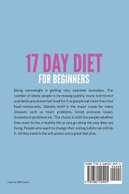 17 day diet for beginners lose weight lose body fat get flat