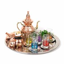 Copper Kitchen Canisters The Culture Behind Moroccan Tea