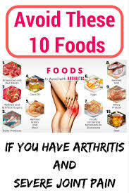 avoid these 10 foods to avoid worse joint pain arthur