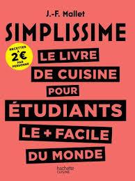 livre de cuisine pour d utant simplissime simplissime le livre de cuisine pour les étudiants le