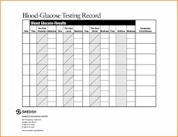 diabetes blood sugar logs glucose log template diabetes pinterest sugar scope of work