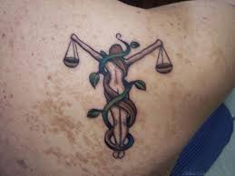 62 stylish zodiac libra tattoos on back