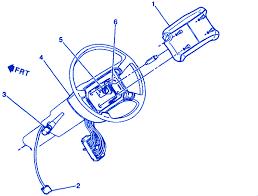 chevrolet 1 5 pickup 1998 steering electrical circuit wiring
