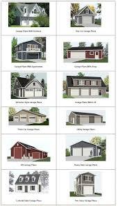 colonial garage plans plans 20 x 20 garage plans