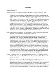 final annotated bibliography germany adolf