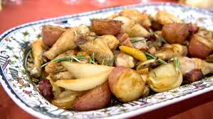 Lidia S Kitchen Recipes by Lidia Bastianich U0027s Grandma U0027s Chicken And Potatoes Today Com