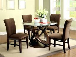 glass top dining table set 6 chairs round glass top dining set furniture black and white glass dining