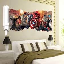 avengers popular super hero wall decal gift movie character