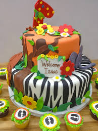shower cakes from the solvang bakery adorable zoo cake with