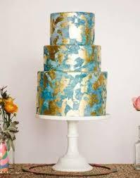 sparkling u0026 metallic wedding cakes mywedding